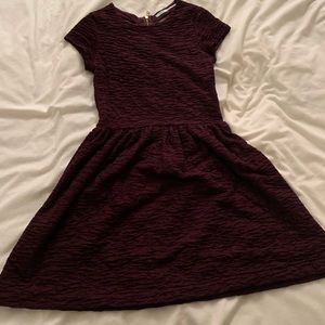 Capped-sleeved Dress